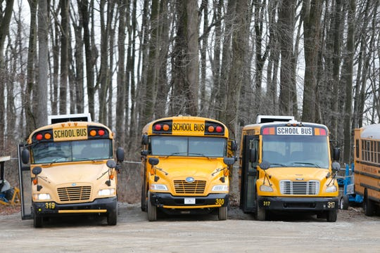 A 5-year-old boy was stuck on a freezing school bus for several hours Tuesday after the driver did not double-check the seats for students.