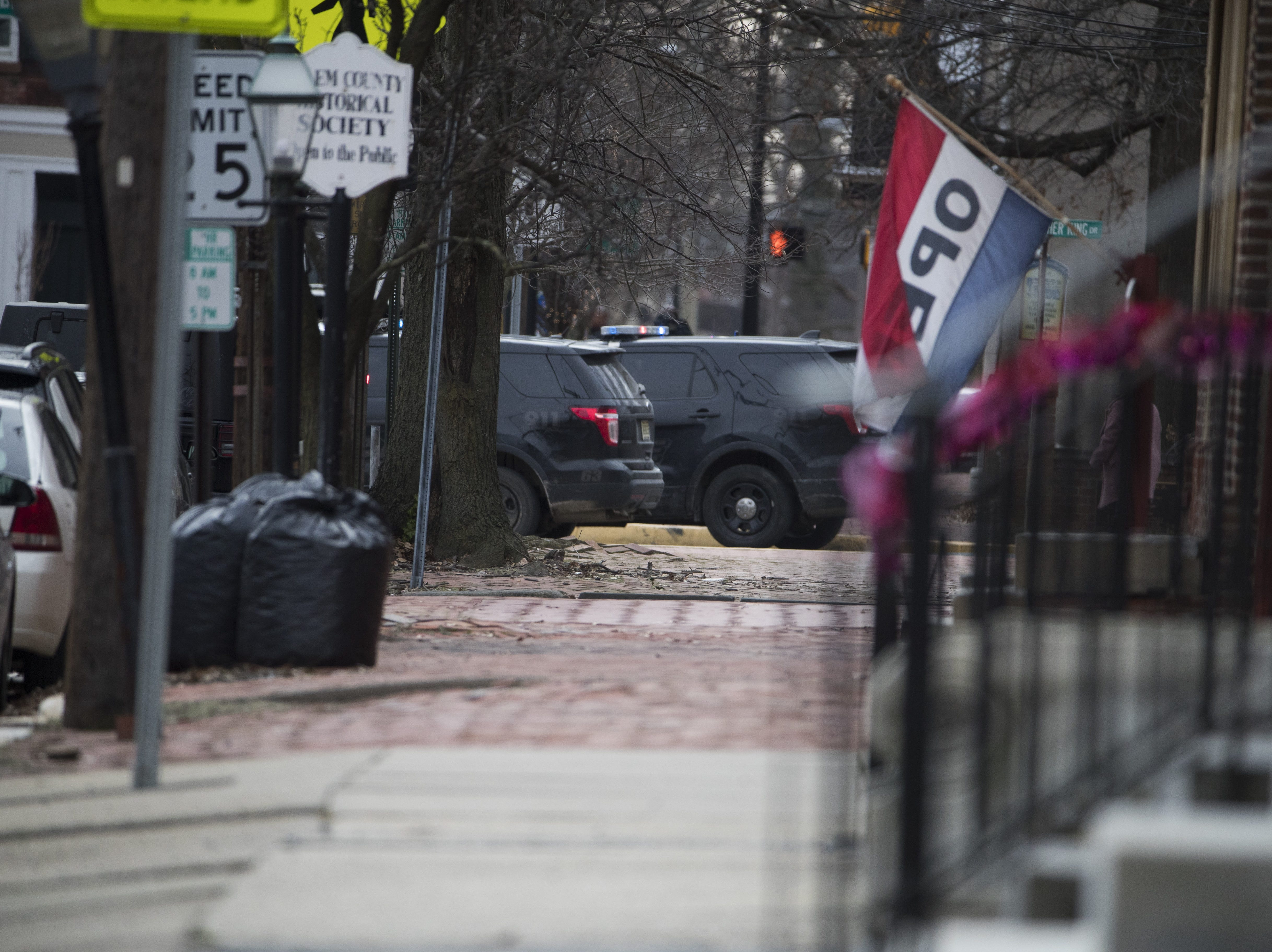 Police are currently on scene at a reported active shooter scene that has lead to a standoff with law enforcement on the 100 block of East Broadway Street in Salem, N.J. Wednesday Jan. 23, 2019.
