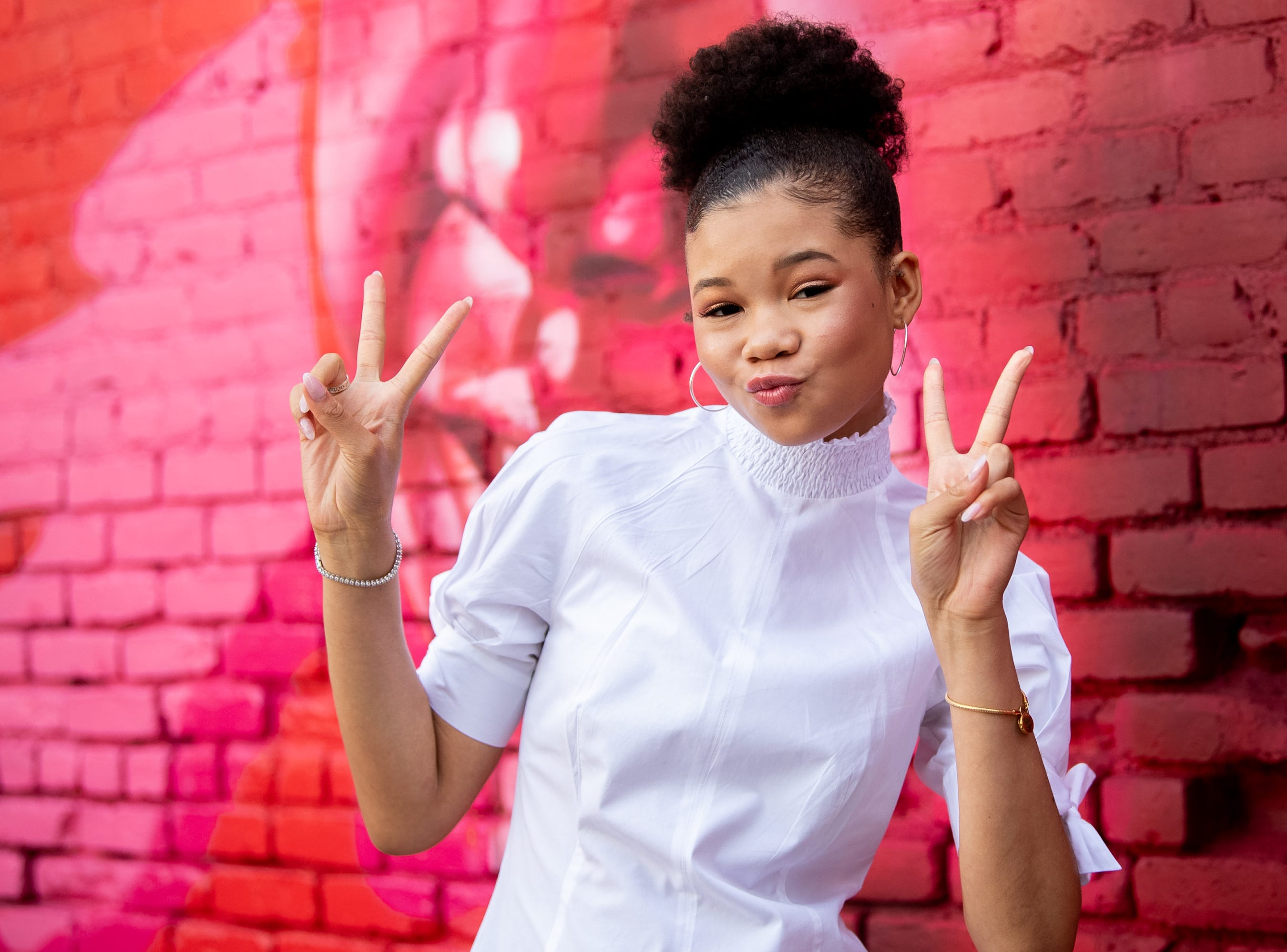 LOS ANGELES, CALIFORNIA - JANUARY 22: Storm Reid attends the 3rd annual National Day of Racial Healing at Array on January 22, 2019 in Los Angeles, California. (Photo by Emma McIntyre/Getty Images) ORG XMIT: 775286570 ORIG FILE ID: 1098156084