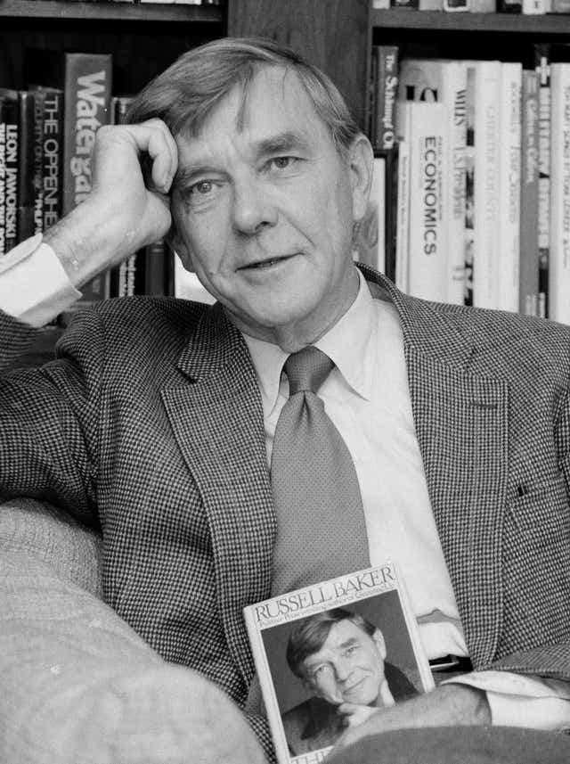 Russell Baker Pulitzer Prize Winner With New York Times Dies At 93