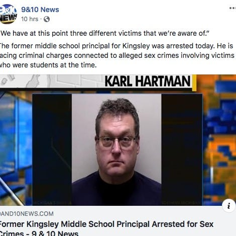 'Well-respected' middle school principal arrested for alleged sex acts with young students