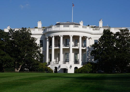 The White House, South Lawn