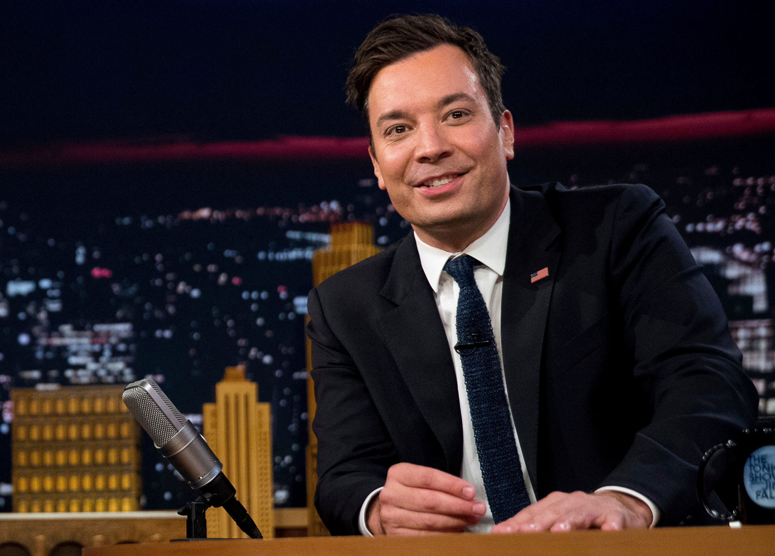 Fallon: 'Big Bang Theory' replaced by Bill de Blasio