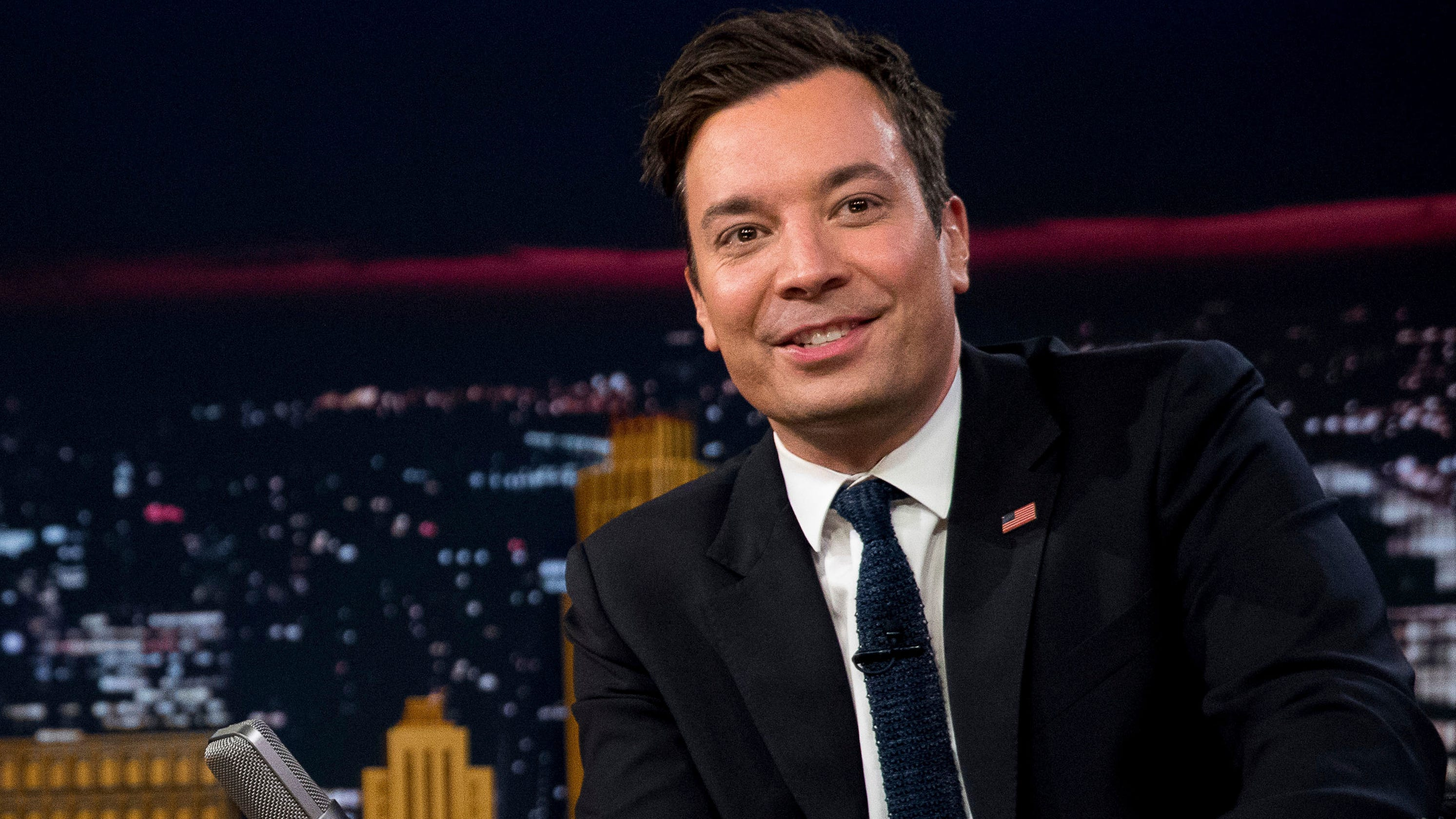 ed3157f5cb2 Samsung Galaxy S10+ used to capture Jimmy Fallon s Monday show