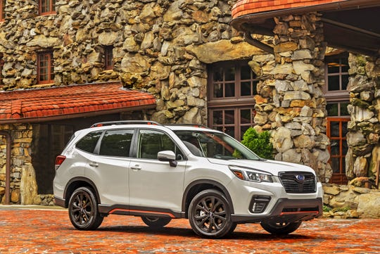 The 2019 Subaru Forester Sport.