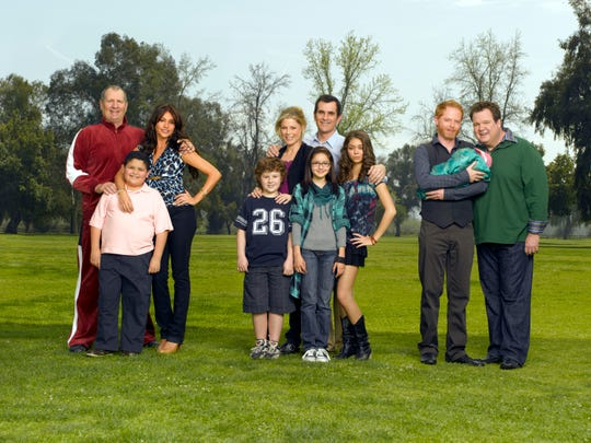 These three related families, seen at the start of ABC's 'Modern Family,' have come a long way over an 11-season run, which ended Wednesday with a one-hour finale.