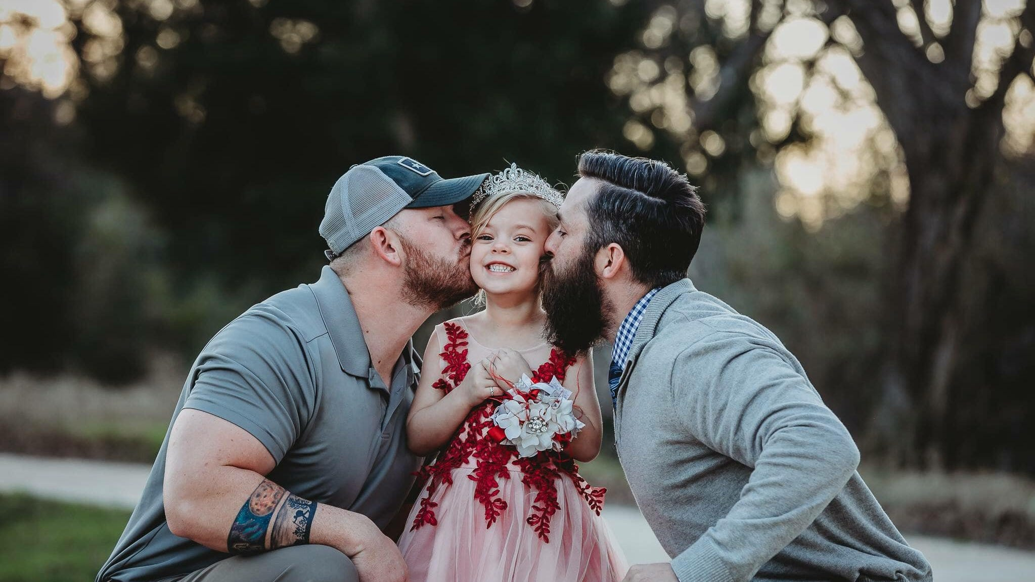 'We are not a same-sex couple, but we do share a daughter:' Man's blended-family post goes viral