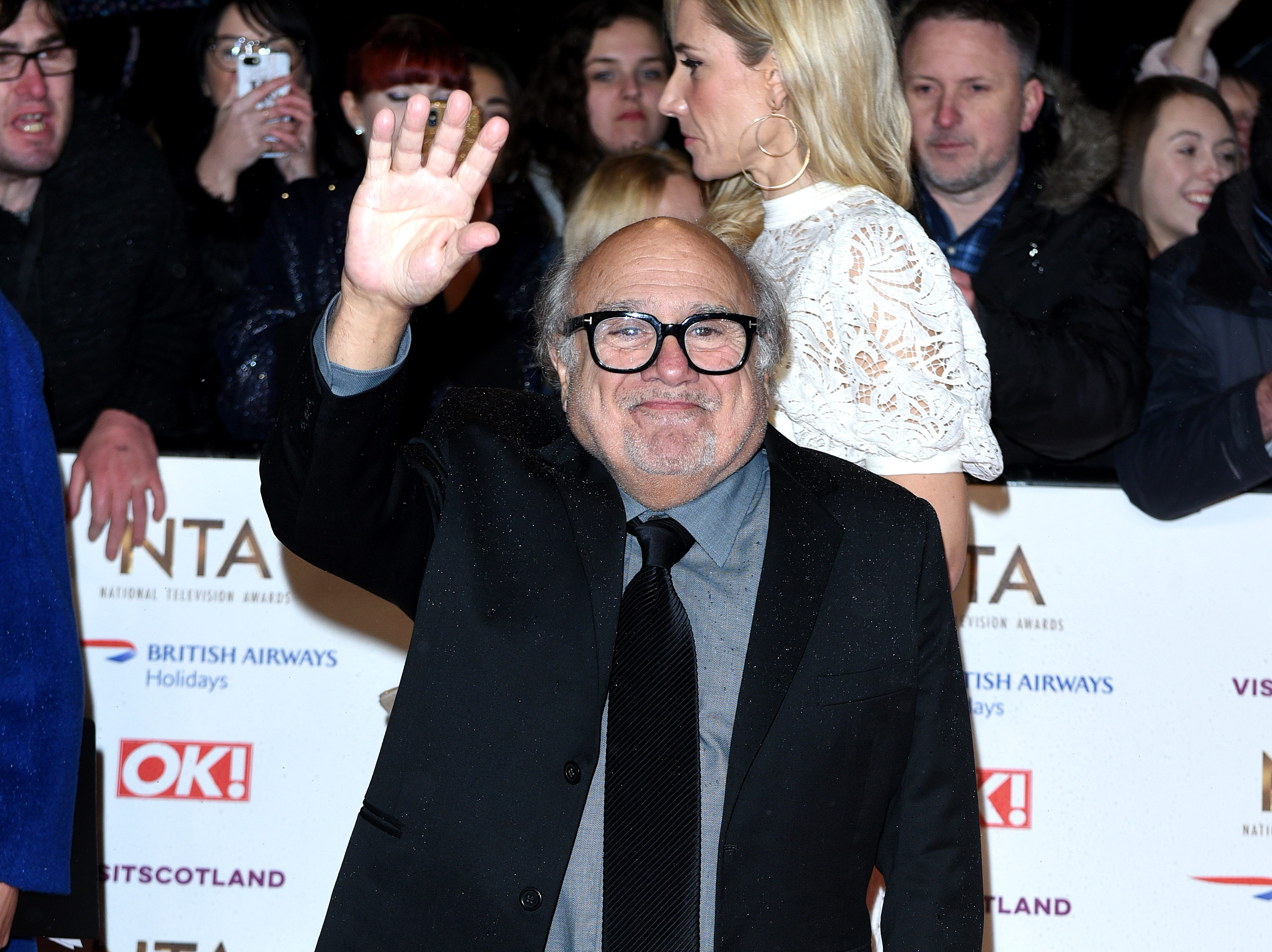 LONDON, ENGLAND - JANUARY 22: Danny DeVito attend the National Television Awards held at The O2 Arena on January 22, 2019 in London, England. (Photo by Joe Maher/WireImage) ORG XMIT: 775284931 ORIG FILE ID: 1098008958