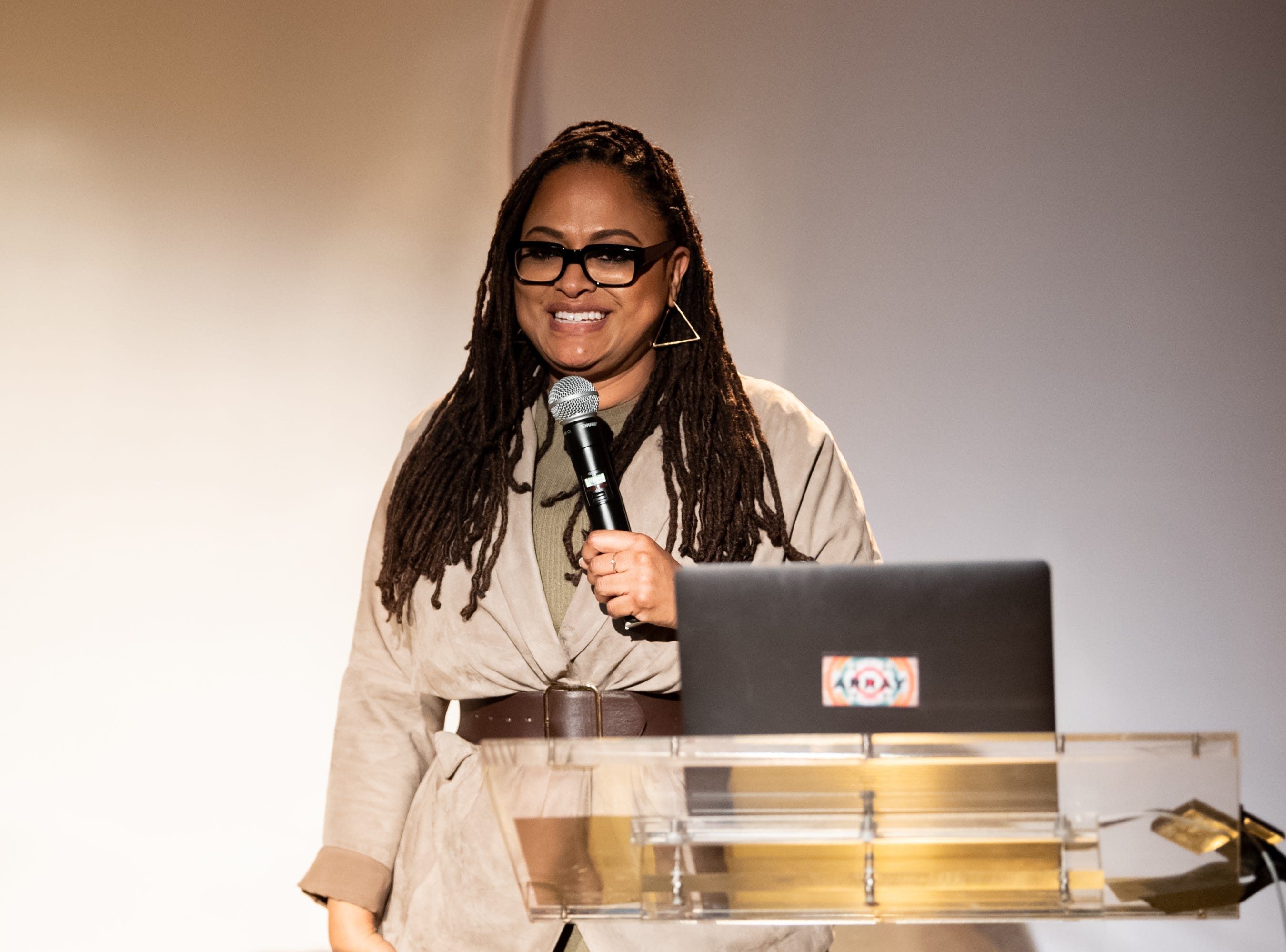 LOS ANGELES, CALIFORNIA - JANUARY 22: Ava Duvernay attends the 3rd annual National Day of Racial Healing at Array on January 22, 2019 in Los Angeles, California. (Photo by Emma McIntyre/Getty Images) ORG XMIT: 775286570 ORIG FILE ID: 1098152712