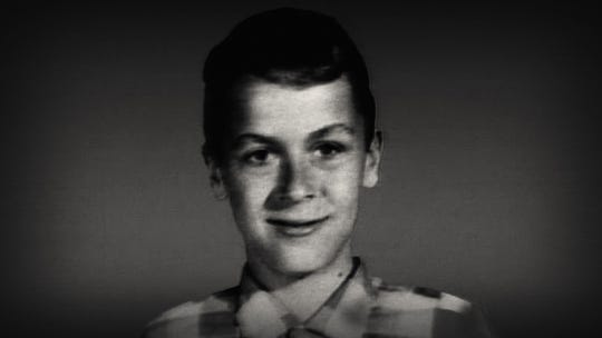 A young Ted Bundy.