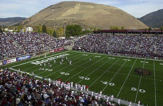 Washington-Grizzly Stadium in Missoula, Montana.