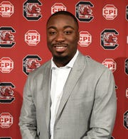Marcus Lattimore, Director of Player Development for the University of South Carolina Football