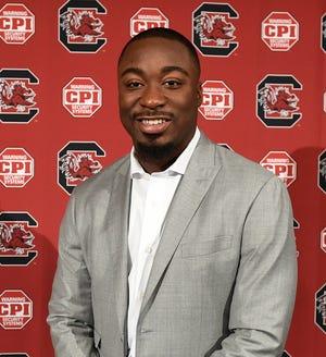 Marcus Lattimore, Director of Player Development for the University of South Carolina Football