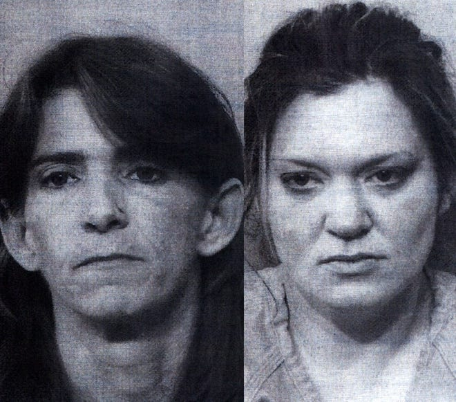 Melissa Brevelle (left) and Martha Smith
