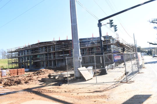 The Central Louisiana Technical Community College Manufacturing Training Center has been under construction and is expected to open this fall. Funded in part by $2 million from the Rapides Foundation, it will be part of CLTCC's new main campus in downtown Alexandria.