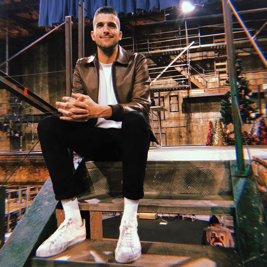 "Jason Sherwood, production designer for ""Rent: Live."""