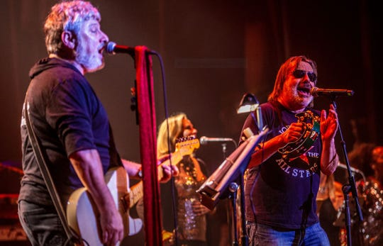 Bobby Bandiera and Southside Johnny at the Hope Concert, Dec. 23, 2019 at the Count Basie Center for the Arts.