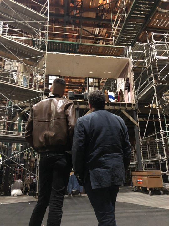 "Jason Sherwood is production designer of ""Rent: Live."""