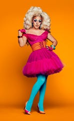 """Ariel Versace of Cherry Hill is one of the contestants on Season 11 of """"RuPaul's Drag Race."""""""
