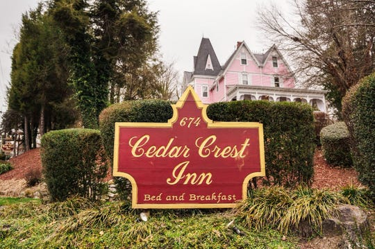 Cedar Crest, an inn at 662-674 Biltmore Ave. in Asheville, is one of five historic local properties now permanently protected under a preservation easement program by The Preservation Society of Asheville and Buncombe County.