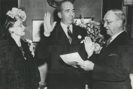 James J. Maloney is sworn in as head of the Secret Service.