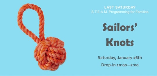 The Puget Sound Navy Museum will teach participants how to tie sailors' knots during an event on Saturday.