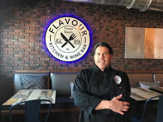 Owner/chef Jason Bunin of Flavour Kitchen & Wine Bar in Cocoa Beach wants guests to become friends.