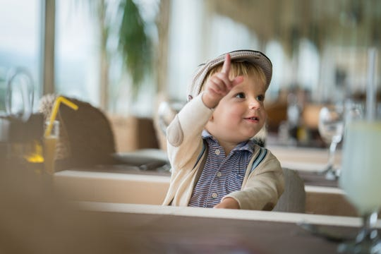 Restaurants can be learning experiences for children, teaching them an appreciation for trying new things.