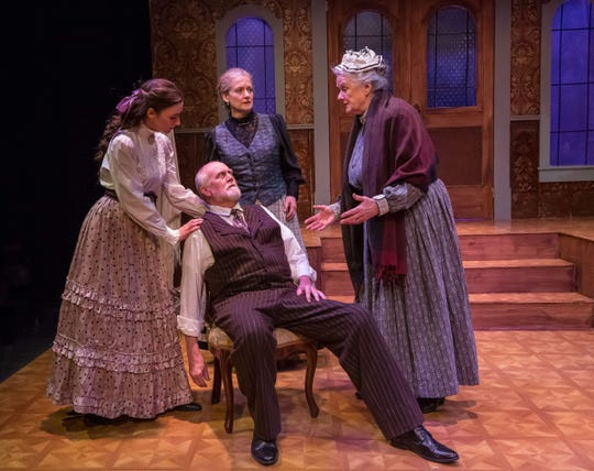 """Vermont Stage presents """"A Doll's House, Part 2"""" through Feb. 10 in Burlington."""