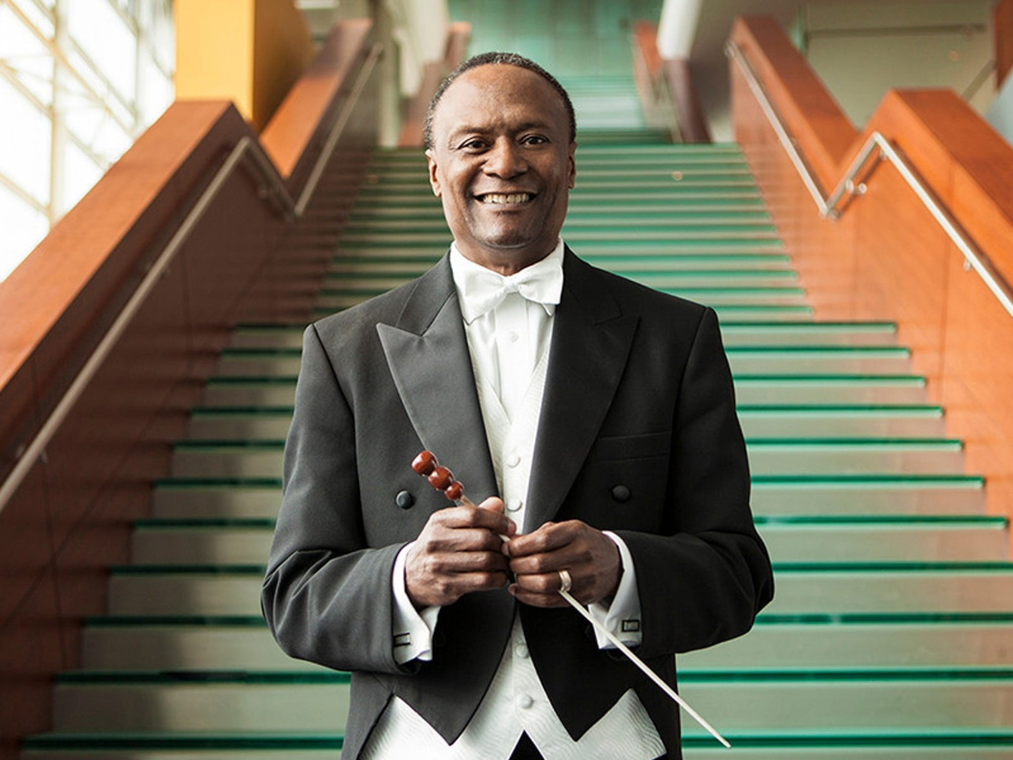Conductor Thomas Wilkins will make his CSO debut Nov. 15-16 when he leads the orchestra in a program highlighting works by African-American composers.