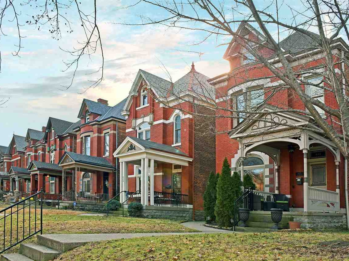 East Row is the second largest historic district in Kentucky with more than 1,000 homes.