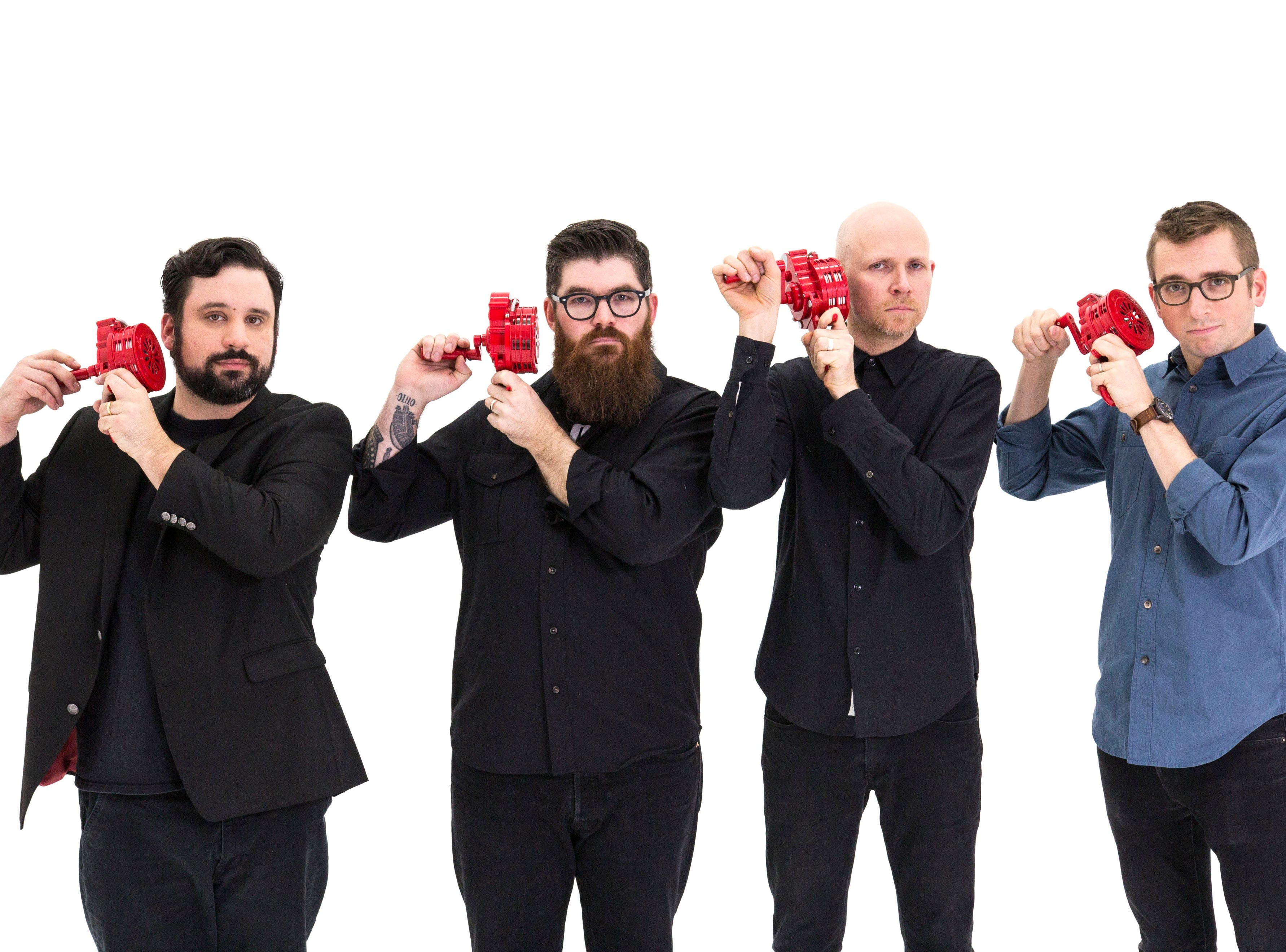 """Billed as """"musical futurists,"""" New York-based percussion quartet So Percussion will be featured in an unusual CSO program that finds them playing Lully's """"Le Bourgeois Gentilhomme"""" and David Lang's """"man made."""""""