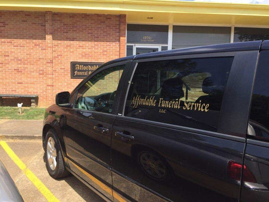 Clarksville Police are looking for this stolen funeral van taken from outside Tennova hospital on Wednesday.