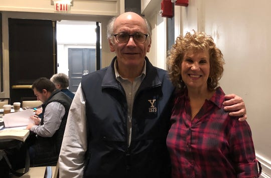 Recently, Rahway High School teacher Debra Maller, with Jewish Foundation for the Righteous board member Dr. Steven Field, participated in the annual JFR Advanced Seminar geared specifically for Holocaust educators. Maller teaches a year-long elective at the high school on the Holocaust and genocide.