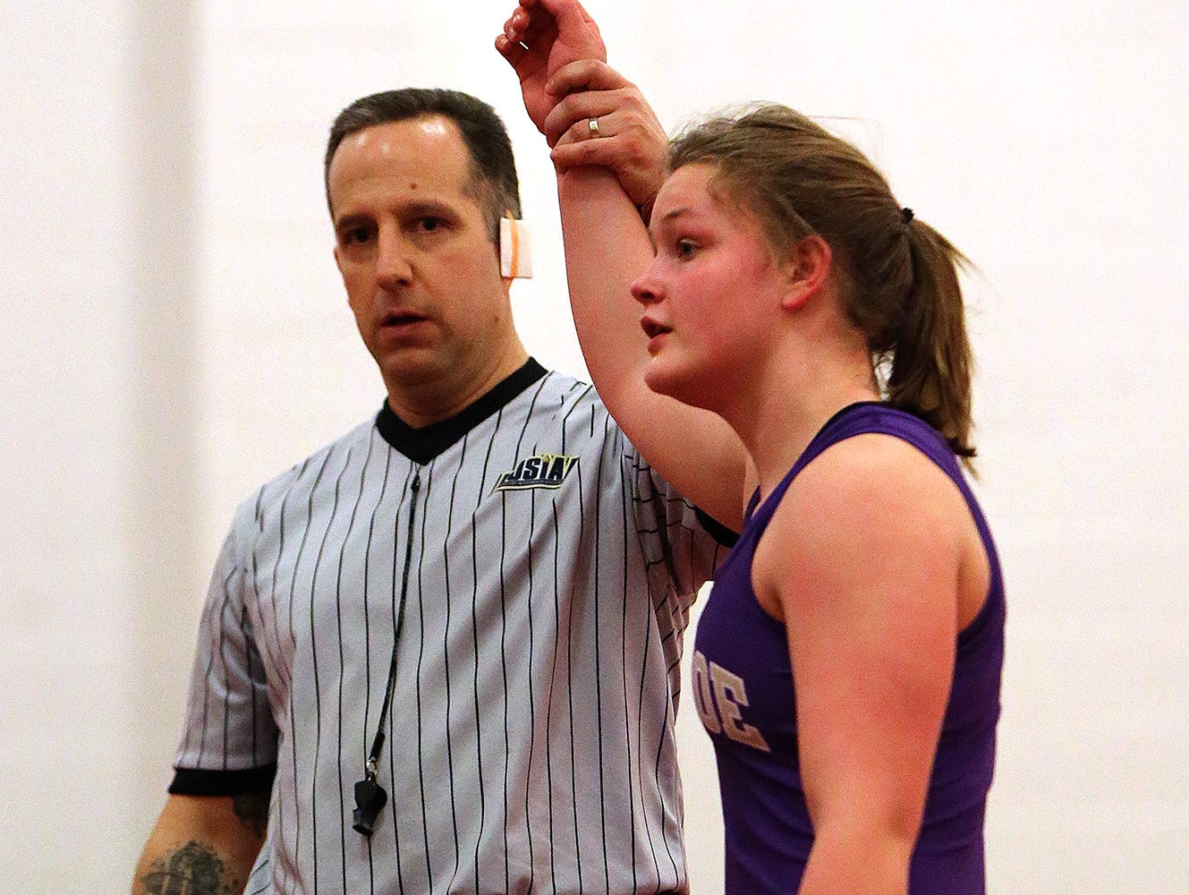 Middlesex County girls wrestling tournament