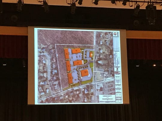 East Brunswick Planning Board members are hearing an application for mixed use project on Summerhill Road and Old Stage Road.