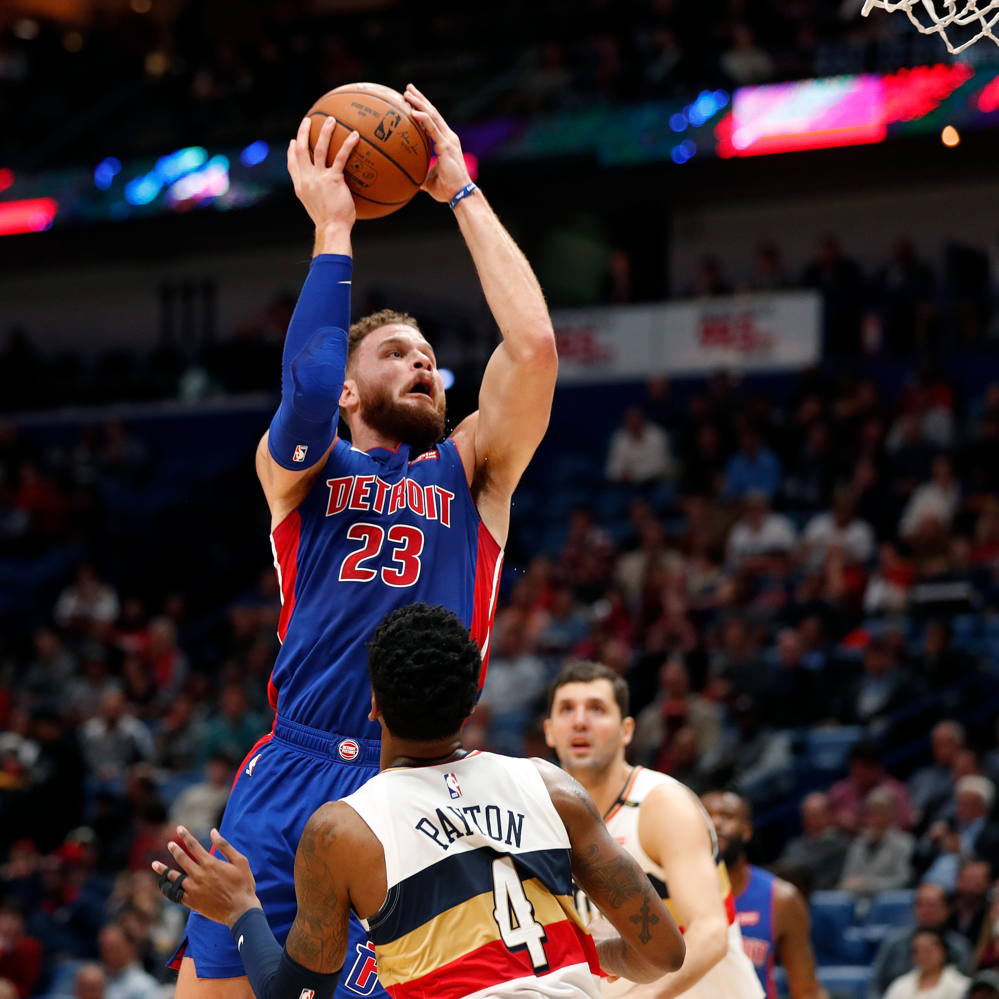 Pistons soar behind 37-point night from Blake Griffin vs. Pelicans