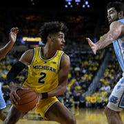 """""""We want to be good so bad, but we're alsostill young and we want to be able to have fun with something that we enjoy doing,"""" Jordan Poole says."""