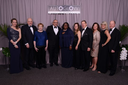 AutoGlow principals from Ford Motor Company and The Children's Center
