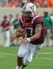 Quarterback Josh Jackson, a former Saline standout, played 1 games over two seasons at Virginia Tech.