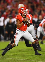 Quarterback Justin Fields is also seeking immediate eligiblity to play for Ohio State after transferring from Georgia.