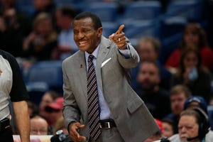Pistons coach Dwane Casey is trying to downplay speculation and get players to focus at the task at hand as the trade deadline nears.