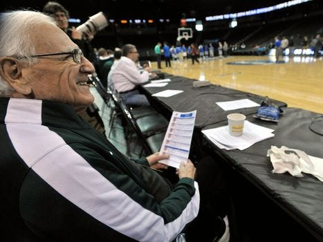 Gus Ganakas, Michigan State basketball coach (1969-76) and broadcaster. Jan. 11. He was 92.