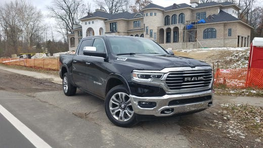 The Ram 1500 Longhorn is the North American Truck of the Year and a sleek combination of good looks, a high-tech interior and coil-over rear springs that boast the smoothest ride in its class.