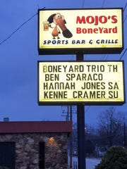 Mojo's BoneYard is located on Bellemeade Avenue just east of Green River Road.