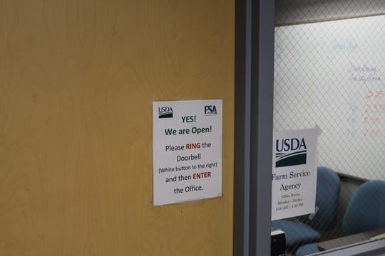 The Sandusky County Farm Service Agency office reopened Thursday after the U.S. Department of Agriculture announced it would reopen all of its FSA offices in spite of the federal government shutdown.