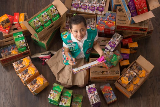 It's National Girl Scout Cookie Weekend!
