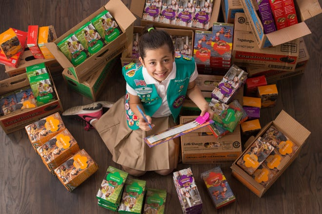 Girl Scout cookies sales will start on Feb. 3 in Colorado.