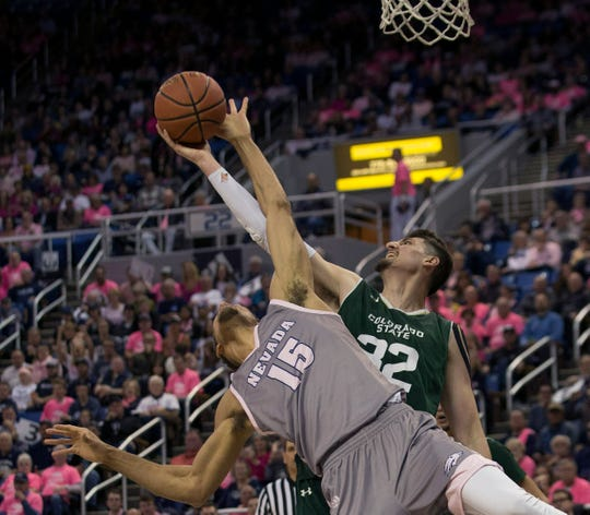 The CSU men's basketball team hosts Fresno State at 2 p.m. Saturday.