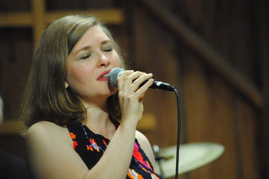 Vocalist and bassist Katie Ernst will perform with three other musicians in a concert Feb. 16 celebrating classic love songs and jazz standards.